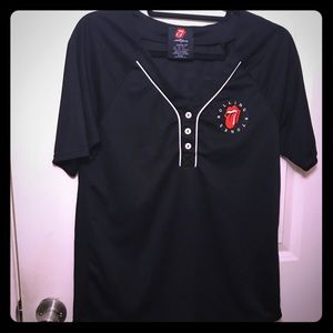 Rolling Stones sport jersey style top